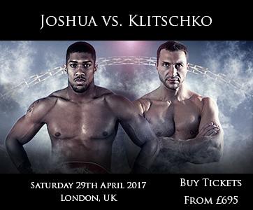 Joshua vs Klitschko Fight
