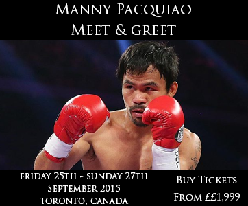 Pacquiao Meet & Greet