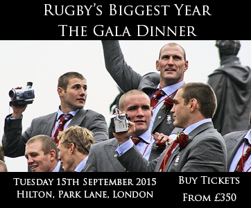 Rugby Gala Dinner