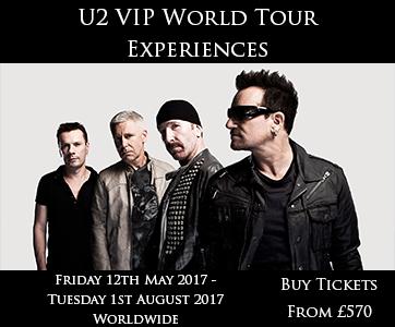 U2 VIP World Tour Experience