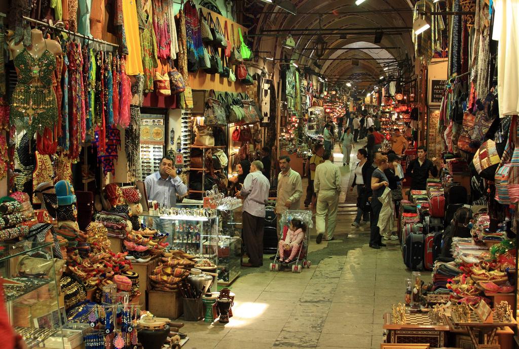 Inside Grand Bazaar