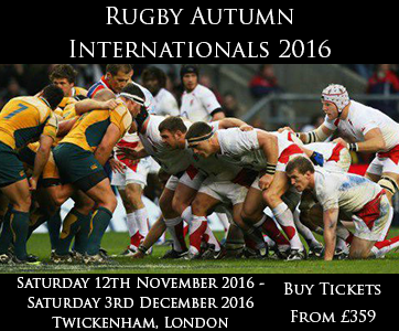 Rugby Autumn Internationals