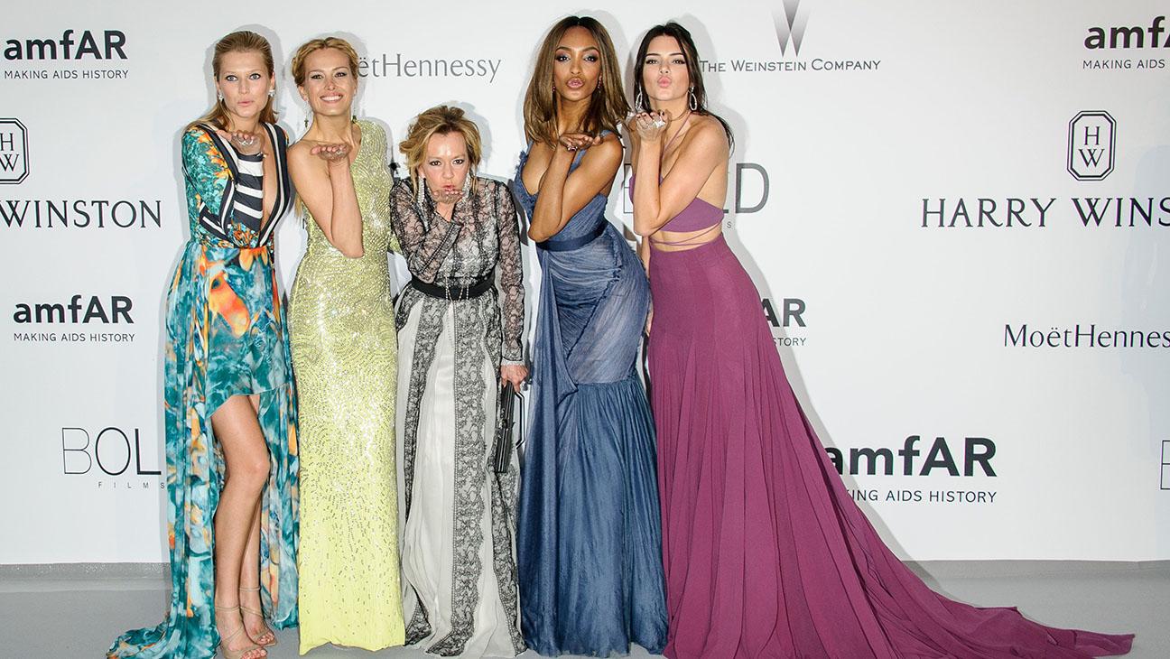 Cannes amfar models