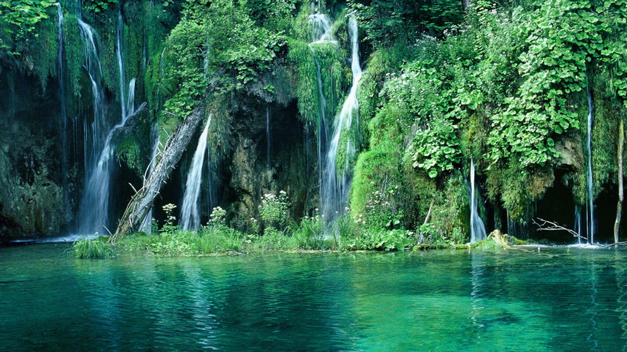 Waterfalls in Bogotá