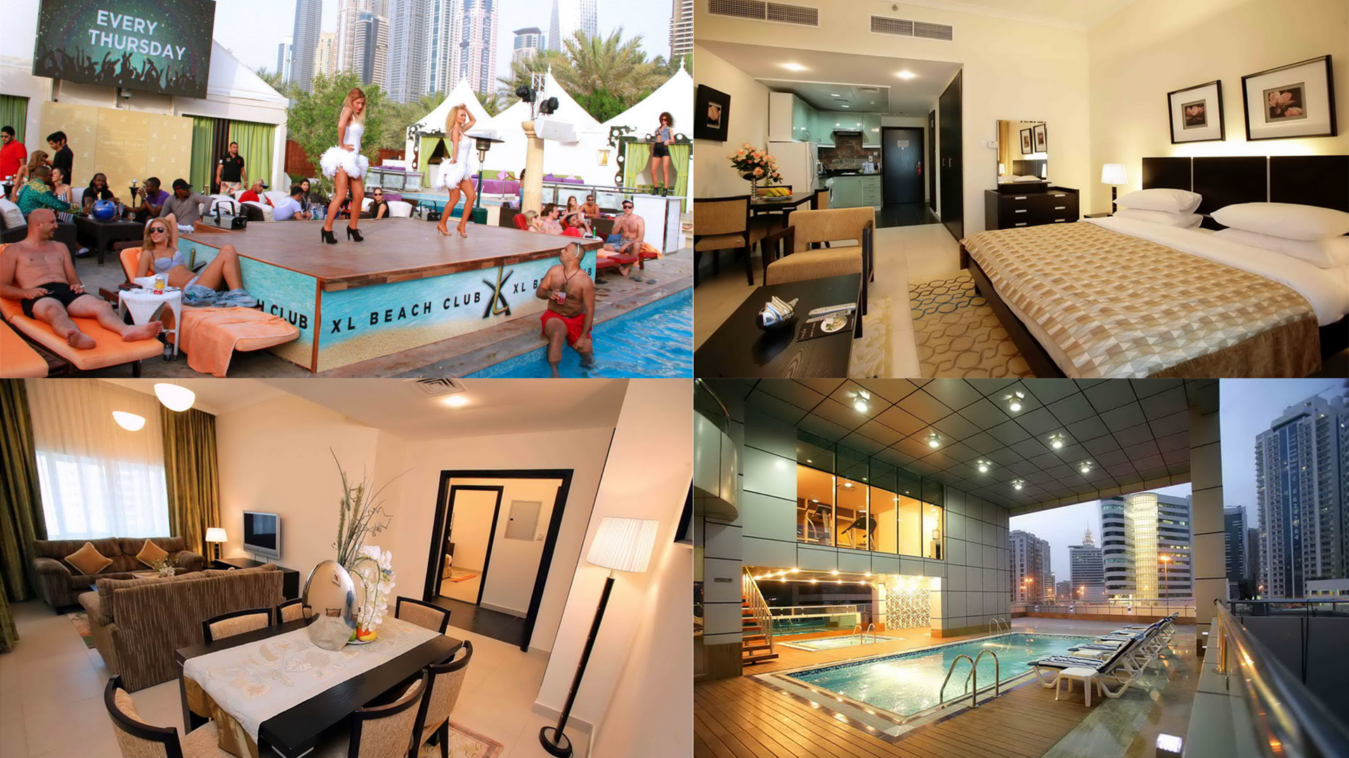 Dubai weekender party and hotels