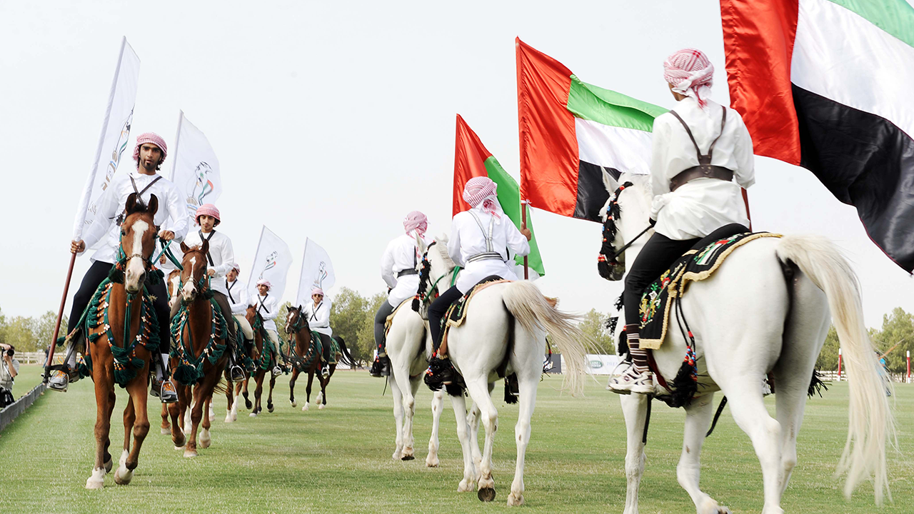 H.H President of the UAE Polo Cup