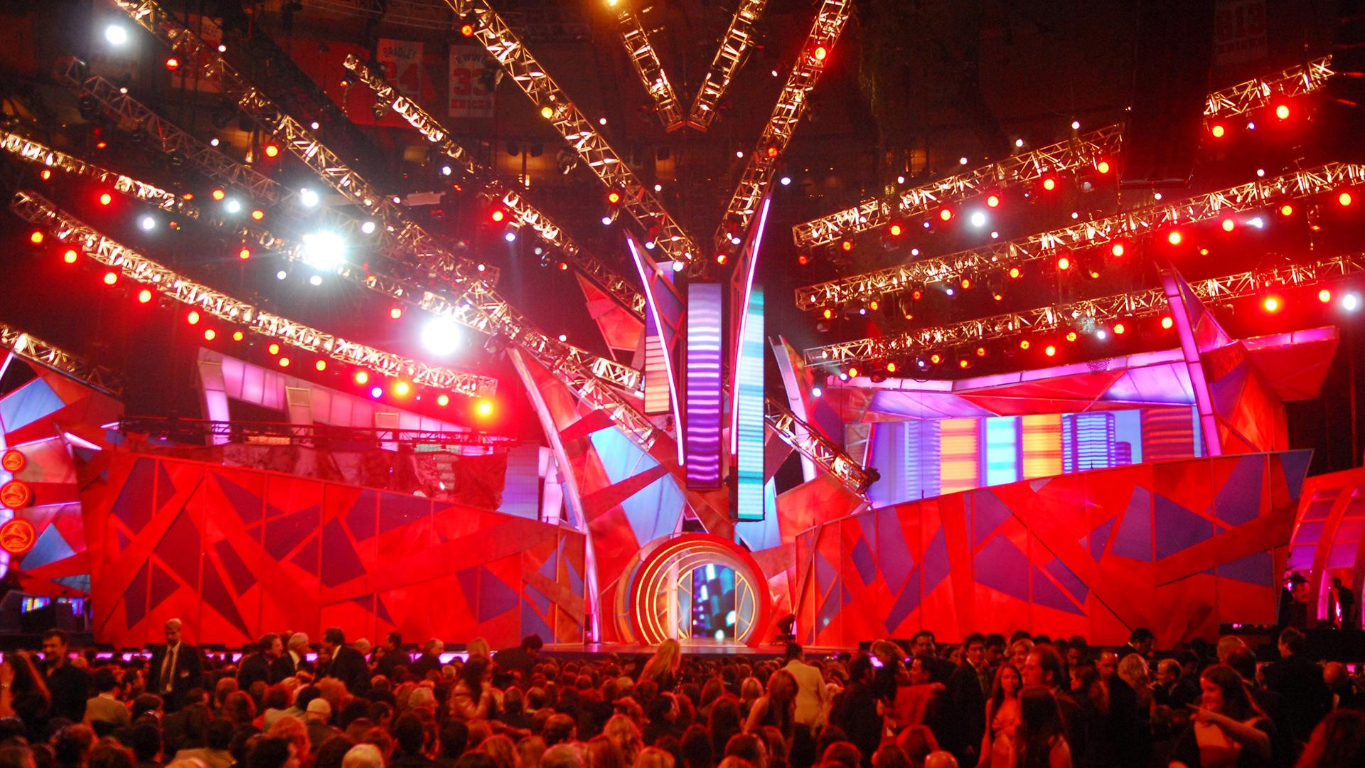 Latin Grammy Awards Stage