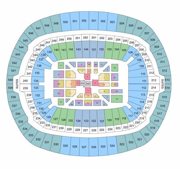 Wembley Stadium Fight Format