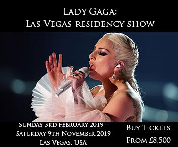 Lady Gaga VIP World Tour Experience