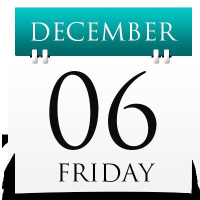 Friday 6th December 2019