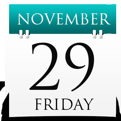 Friday 29th November 2019