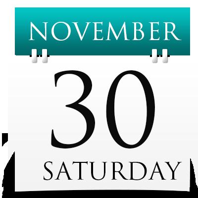 Saturday 30th November 2019