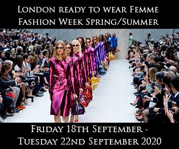 London Women's Fashion Week S/S