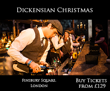 Dickensian Christmas Shared Christmas Party