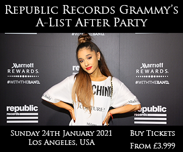 Republic Records Grammy's A-List After Party