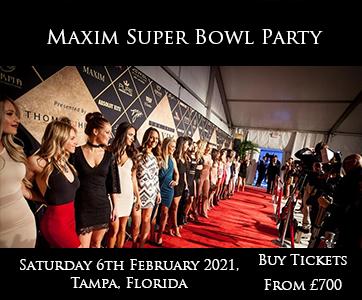 Maxim Super Bowl Party