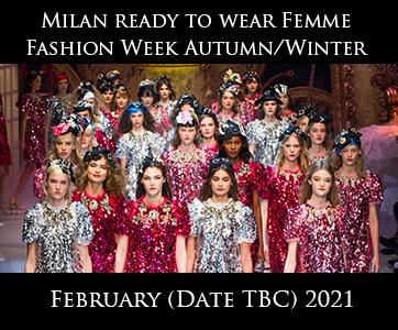 Milan Women Autumn/Winter Fashion Week