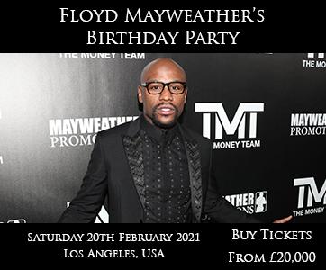Floyd Mayweather's birthday party