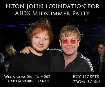 Elton John Foundation for AIDS Midsummer Party