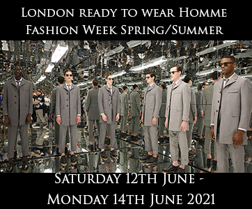 London Men's Fashion Week Spring Summer 2020