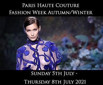 Paris Haute Couture Autumn Winter