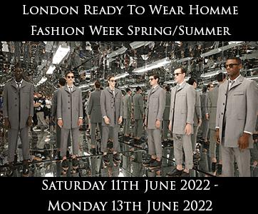 London Men's Fashion Week Spring Summer