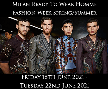 Milan Men's Fashion Week Spring Summer