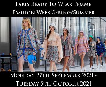 Paris Women's Fashion Week Spring/Summer