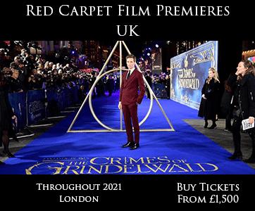 Red Carpet Film Premiere UK