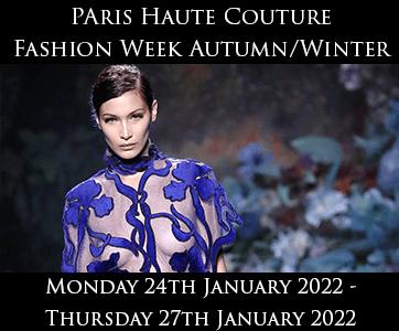 Paris Haute Couture Autumn/Winter Fashion Week