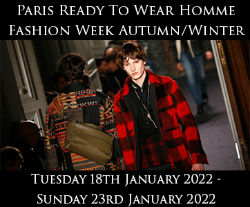 Paris Ready To Wear Homme Autumn/Winter Fashion Week